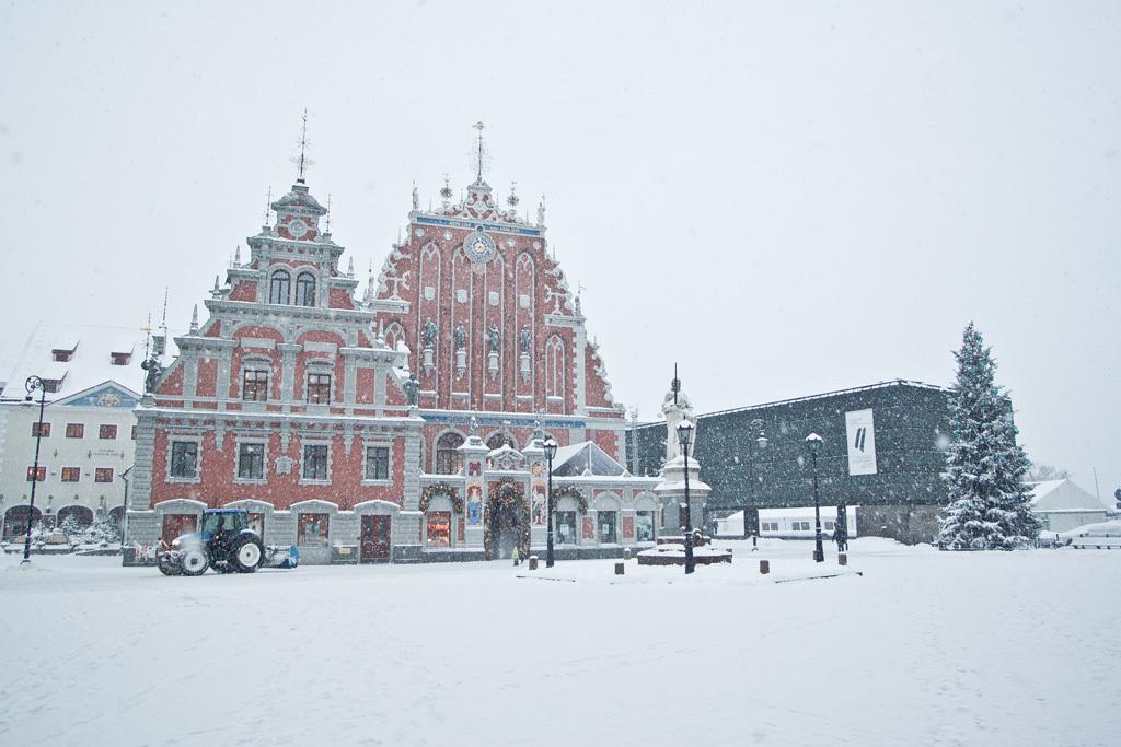 ryga žiemą