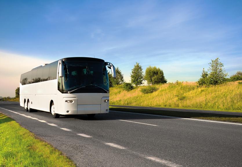 keliones autobusu