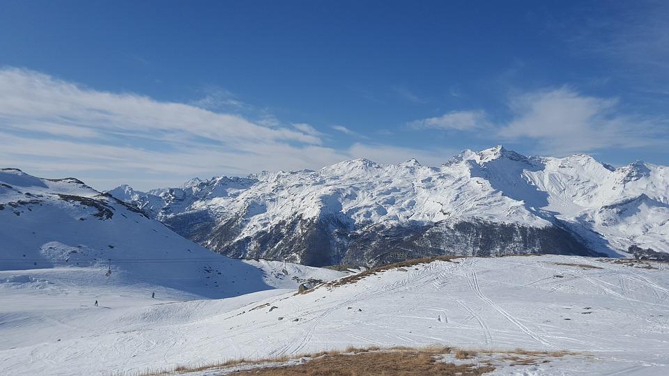 slidinėjimas Italijoje