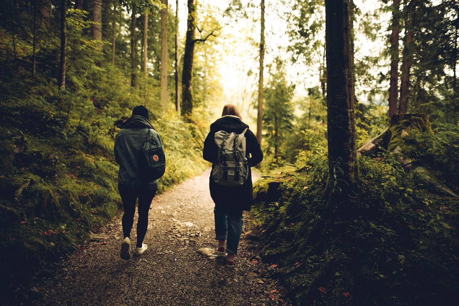 Keliavimas miške